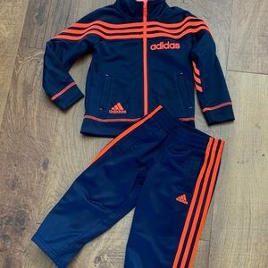 like new toddler  boys adidas track suit 3T
